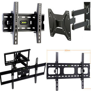 PLASMA-LCD-LED-TV-Wall-Bracket-Mount-Tilt-Swivel-32-37-40-42-46-48-50-52-60-63
