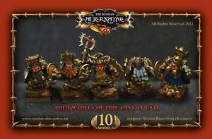 Dwarves of Fire Canyon Unit RESIN