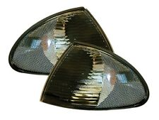 BMW 3 SERIES E46 SALOON 98-01 TOURING 98-01  SMOKED FRONT INDICATORS REPEATERS