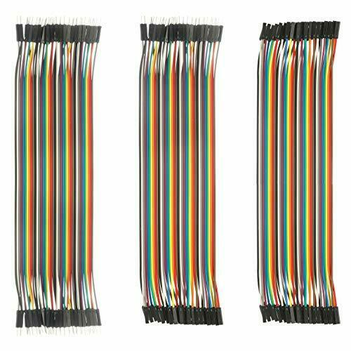 120 PCs 3in1 breadboard Wires Male to Male Female to... DEYUE Jumper Wires Set