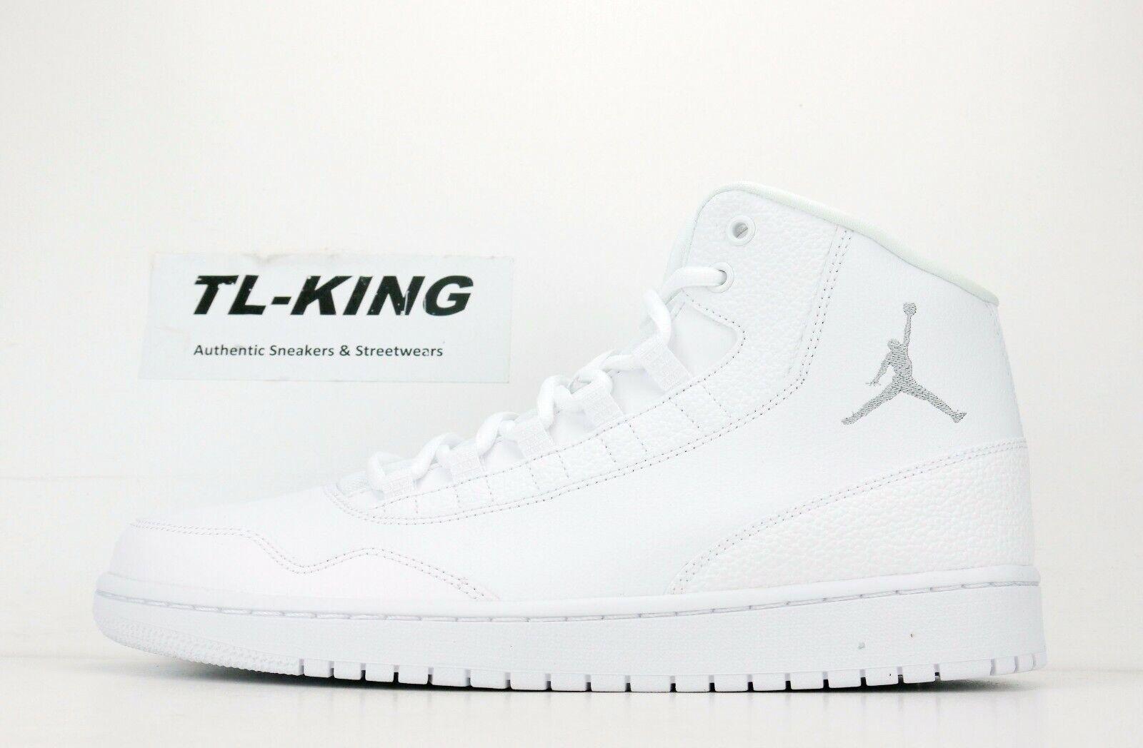 Nike Air Jordan Executive Executive Executive White Wolf Grey 820240-100 Msrp  100 F.B e06d91