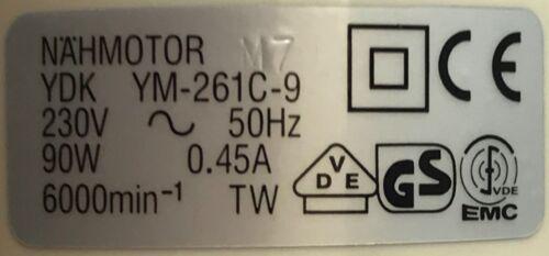 Ydk Neu Nähmaschine Motor Passend für Alt Singer Toyota B Newhome Etc Blb701