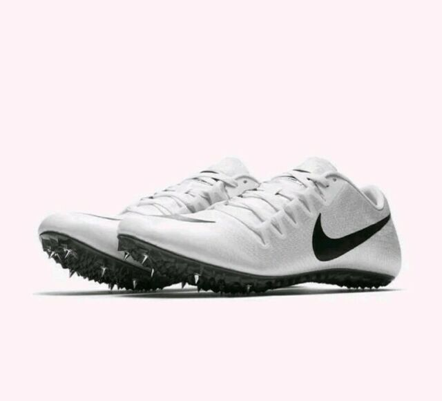 64fcf8a6 Nike Zoom JA Fly 3 Spikes Track Shoes Mens 7.5 White Black 865633 102