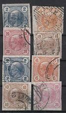 Österreich Nr. 97-100, 101-104  gest.