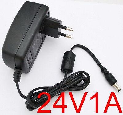 AC 100-240V Converter Adapter DC 24V 1A Power Supply EU plug DC 5.5mm 1000mA 24W
