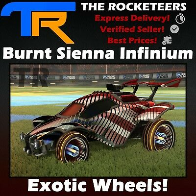 [PS4/PSN] Rocket League Every painted Infinium Victory Crate Exotic Wheels