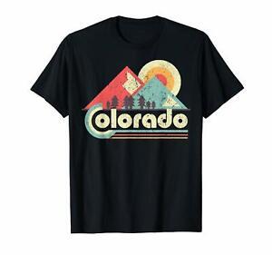 Black-Colorado-State-Shirt-Retro-Vintage-Distressed-Flag-US-Men-039-s-trend-2019