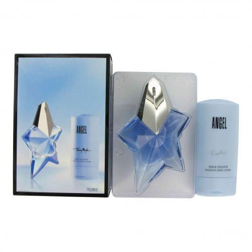 89f1e8cc4c Thierry Mugler Angel Gift Set Eau De Parfum Spray 50ml Body Lotion 100ml  for sale online