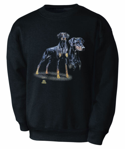 Designer Sweatshirt S M L Xl Xxl Dobermann Collection C. Boetzel Hunde 10101