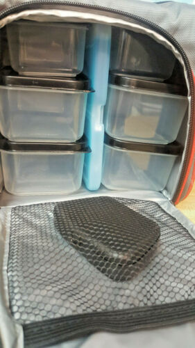 Insulated Meal Prep Bag Food Storage Container Bento Lunch Box Gym Travel Cooler