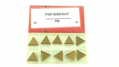NWP TPMR 322 AA Mp4 C5 Uncoated Carbide Inserts TPMR 160308 p40 10pcs TPGR-322