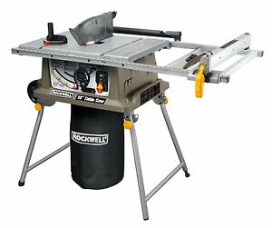 Image Is Loading RK7241S Rockwell 15 Amp Table Saw With Laser