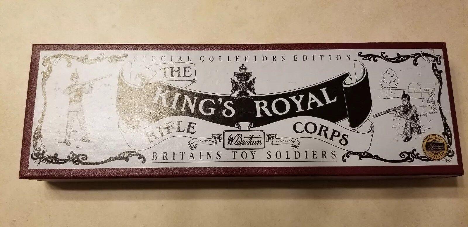 Neu Britains Spielzeugsoldaten 8822 Könige Königlich 1992 100% Original Geschenk