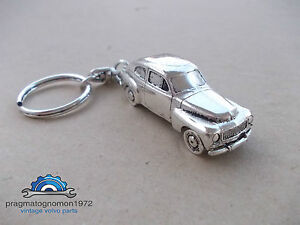VOLVO PV 544  KEYCHAIN SILVER PLATED GIFT