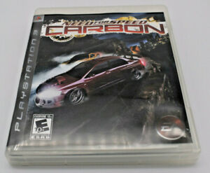 Need For Speed Carbon Playstation 3 Complete 14633152753 Ebay