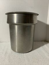Nsf Stainless Steel Inner Pot For 10 Or 7 Qt Soup Warmer Food Warmer