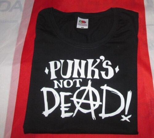 Punks Not Dead T Shirt Lady-Fit