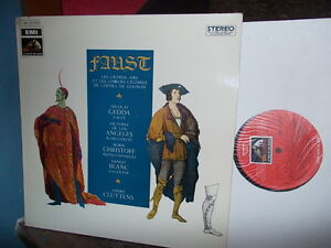 GOUNOD-Faust-excerpts-gt-Gedda-de-Los-Angeles-Christoff-Cluytens-EMI-stereo