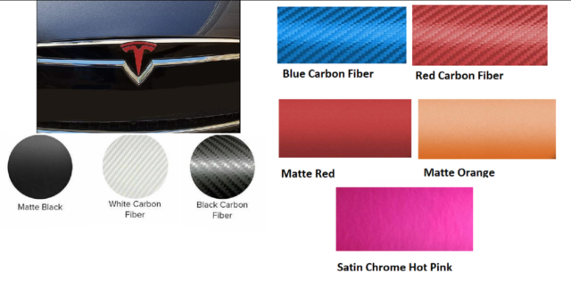 Tesla Model S Front Nose Cone T Logo Decal, Pre-2016   eBay