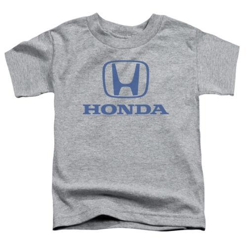 Honda Toddler T-Shirt Blue Standard Logo Heather Tee