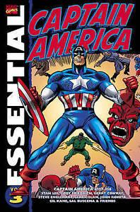 Essential-Captain-America-Vol-3-Gary-Friedrich-Stan-Lee-2006