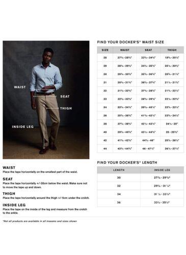 Dockers Men/'s Relaxed Fit Comfort Khaki Pants D4