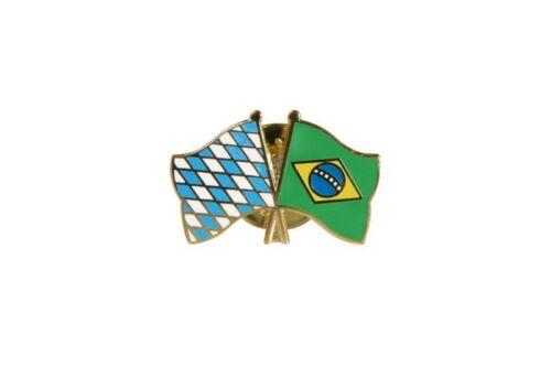 Brasilien Flaggen Pin Fahnen Pins Fahnenpin Flaggenpin Anstecker Bayern