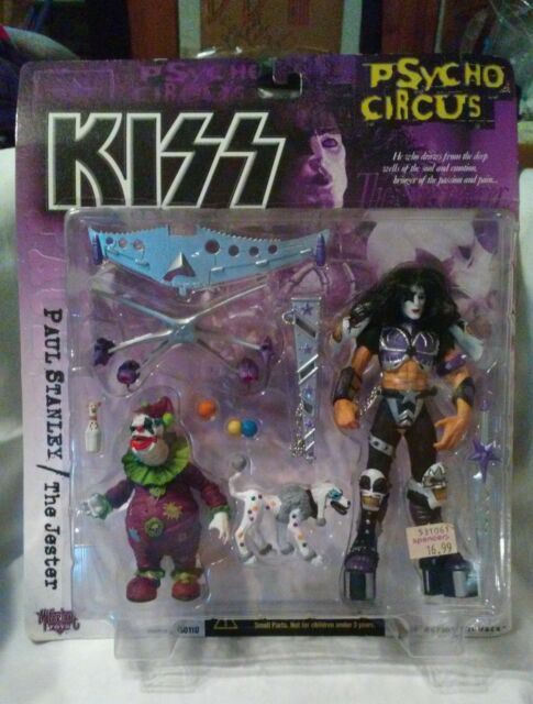 Kiss Psycho Circus/Paul Stanley – The Jester #50110/McFarlane Toys 1998