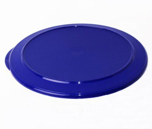 TUPPERWARE Tafelperle Ersatzdeckel für die 3,5L Schüssel Blau