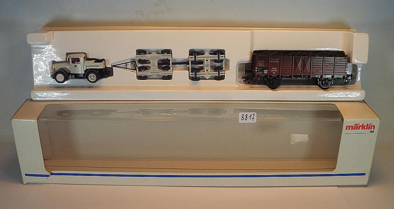 Märklin H0 46822 Strassenroller-Set Kaelble 2-achsig der DR KKK & NEM OVP