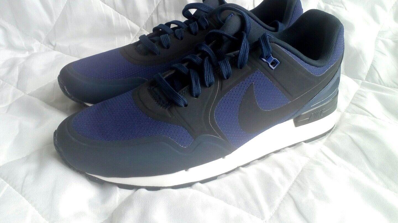 Cheap and beautiful fashion Nike Air Pegasus 89  obsidian blue   UK size 8. /  no sew
