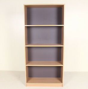retro vintage bookcase danish open bookshelves shelving ebay rh ebay co uk ebay wooden bookshelves ebay used bookshelves