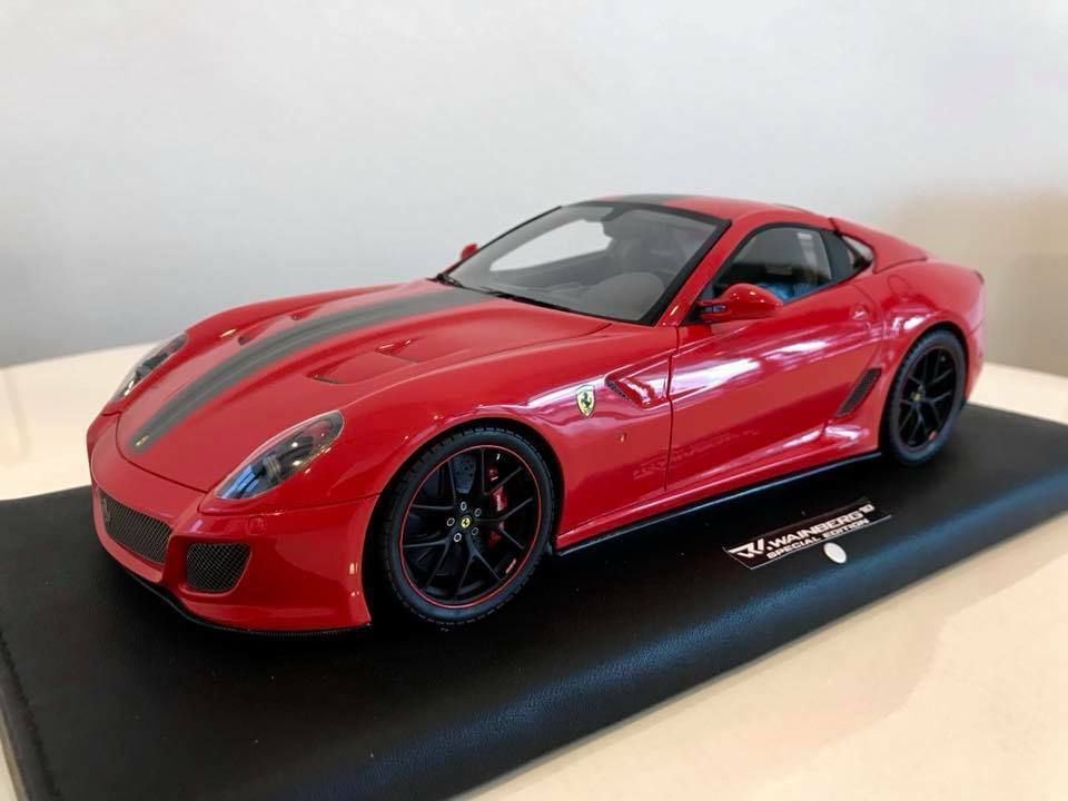 1 18 MR Ferrari 599 GTO Red Wainberg Special Edition Free Shipping