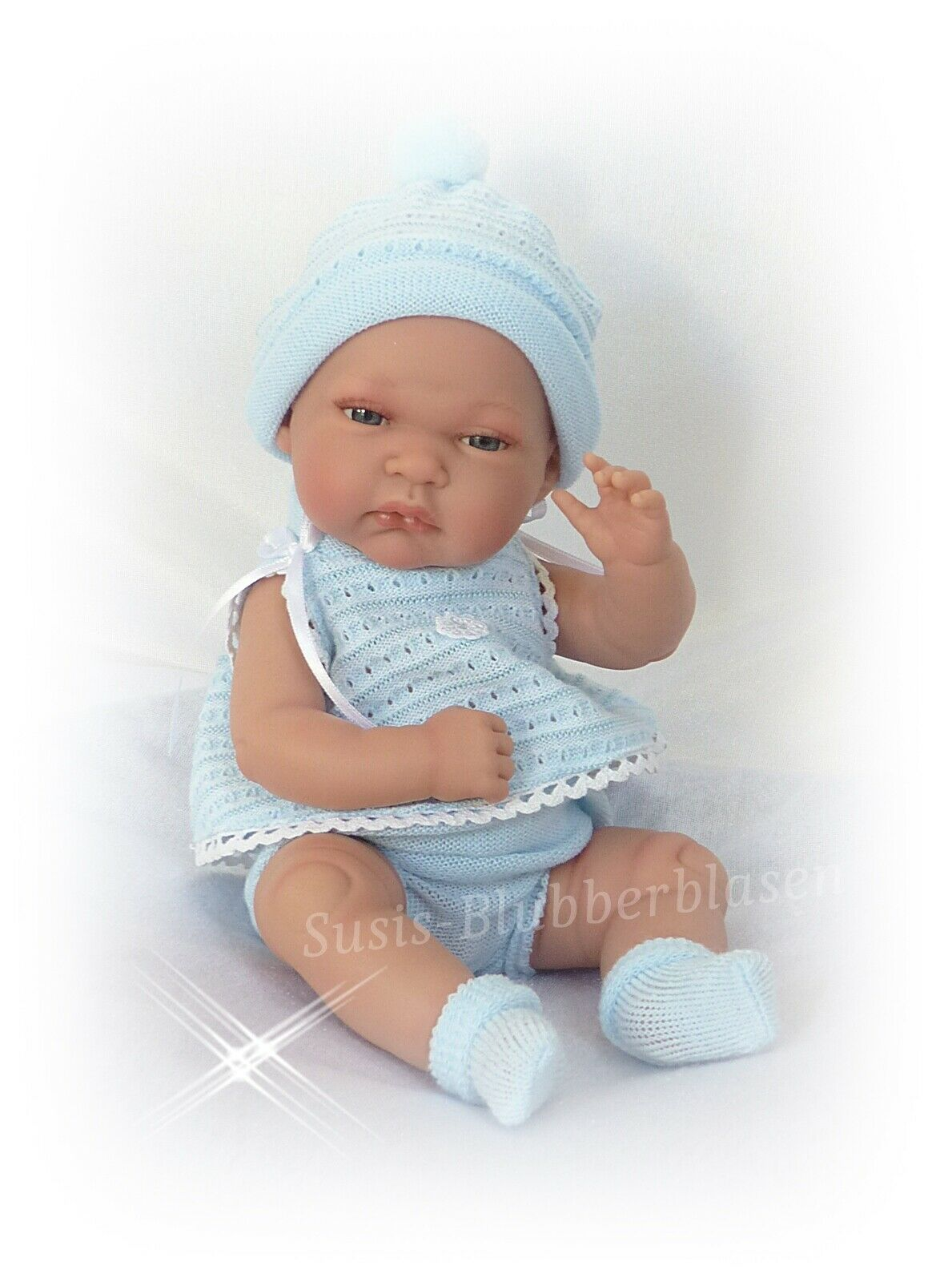 Lebensechte anatomisch korrekte Jungen Babypuppe  Tonet  von Antonio Juan 33cm