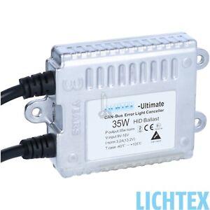 LICHTEX Ultimate CAN-Bus HID Xenon Scheinwerfer Steuergerät 12V 35W AC 9-16V AF