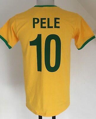 Neymar Jr #10 Brazil Adult Men's Large Nike Shirt