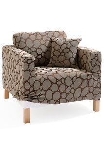 aktuelle husse f r ein 3 sitzer sofa mit stein optik in. Black Bedroom Furniture Sets. Home Design Ideas