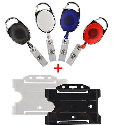 10 X Skipasshalter Inkl. Hülle Offen, Ausweishalter, Ausweisjojo, Skipassjojo 100% Hochwertige Materialien