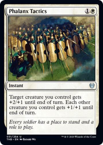x4 Phalanx Tactics MTG Theros Beyond Death U M//NM English