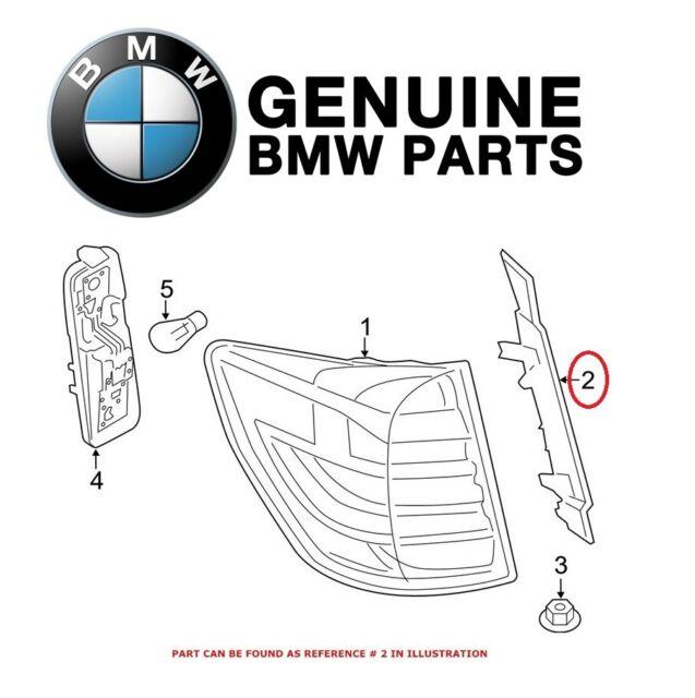 Genuine BMW F25 SUV Covering Right OEM 63217263604