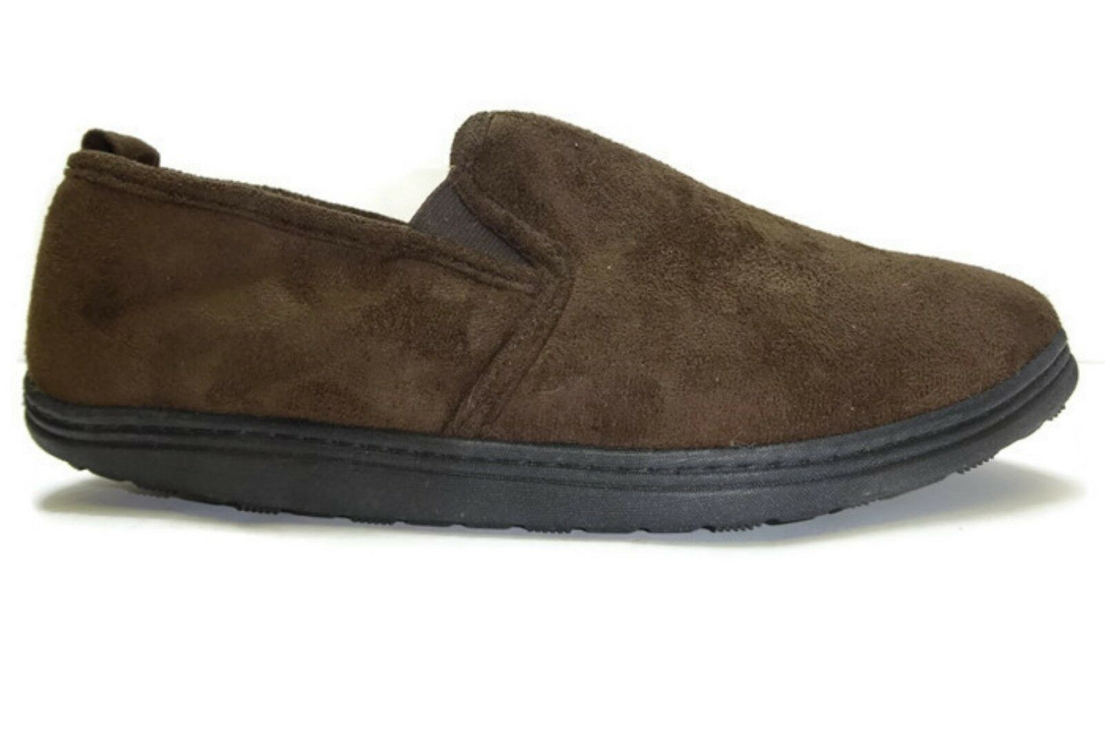 John Ashford - Mens Harold Slipper, Brown, 13 XX-Large
