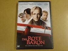 2-DISC DVD / DER ROTE BARON ( MATTHIAS SCHWEIGHOFER, TIL SCHWEIGER... )