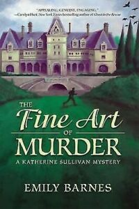 The-Fin-Art-Of-Murder-A-Katherine-Sullivan-Mystere-Reliure-Emily-Barnes