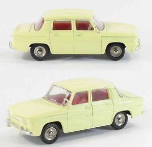 1 / 43 Ème Dinky Toys Renault 8 Jaune Jouet Ancien