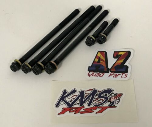 Yamaha Grizzly 700 ARP KMS Stronger Heavy Duty Cylinder Head Studs Bolts Kit
