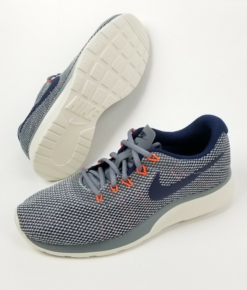 NIKE Tanjun Tanjun Tanjun Racer Woman's Running shoes Cool Grey Binary bluee Size 7.5  70 ec3507