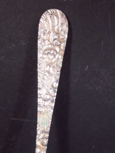 Stieff Sterling STIEFF PRINCESS HAND CHASED ICED ICE TEA SPOON NM