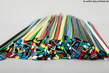 Plastic welding rods STARTER 115pcs PC PA PP/EPDM PPO PP ABS HDPE PA/ABS