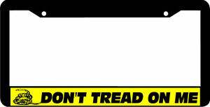 image is loading gadsden flag don 039 t tread on me - Don T Tread On Me License Plate Frame
