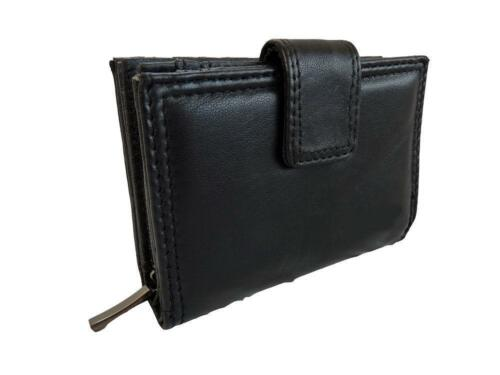 Italian Soft Leather Purse Ladies Holds Notes ID FAST FREE POST Cards Coins